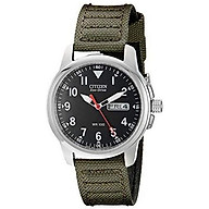 Citizen Men s Eco-Drive Stainless Steel Watch with Day Date display, BM8180-03E thumbnail