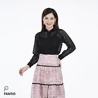 Chân váy dài chất liệu vải ren hoa dáng xòe FJD9808 - PANTIO thumbnail