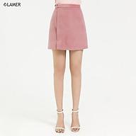 Chân váy dạ, xẻ lệch LAMER L62R20T001 thumbnail