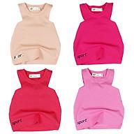 Áo bé gái ba lỗ ôm body cho bé 1 đến 6 tuổi từ 8 đến 22kg chất shop đẹp 06719-06722 thumbnail