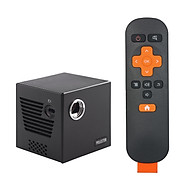 C80 Mini DLP Projector 4K Home Theater Portable Pocket Projector Touch Control Android 7.1.2 2.4G 5G Dual-band WiFi thumbnail