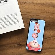 Ốp Lưng Silicon Mặt Lứng Cứng Hoạ Tiết Dễ Thương Cho Iphone 7 Plus 8 Plus - Màu Ngẫu Nhiên thumbnail