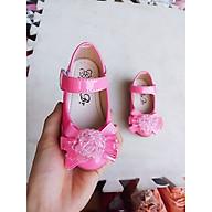 giày búp bê trẻ em nơ hoa siêu xinh thumbnail