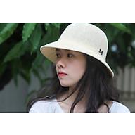 Mũ cói, nón cói Hàn Quốc phong cách vintage chữ M thời trang Covi nhiều màu sắc N34 thumbnail