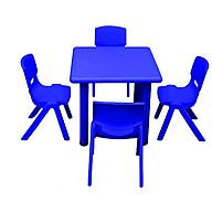 Bộ bàn ghế Mầm Non Hình Vuông 4 Ghế TH01 thumbnail