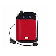 Máy trợ giảng không dây cao cấp Mỹ Aporo T9 2.4G Wireless - Kèm theo 1 Micro ko dây + 1 Micro có dây cài tai + 1 Micro có dây cài ve áo thumbnail