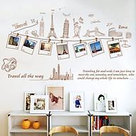 Decal dán tường du lịch thế giới độc đáo thumbnail