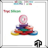 Trục Câu Cá Silicon Cuốn Thẻo Cần Câu Tay Chuyên Dùng Cho Câu Đài , Câu Đơn - Màu Ngẫu Nhiên thumbnail