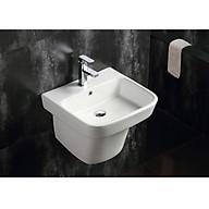 Chậu lavabo liền khối vuông treo tường Navier NV-421 thumbnail