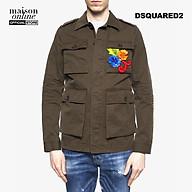 DSQUARED2 - Áo khoác nam túi hộp thêu hoa Embellished S71BN0724-728 thumbnail