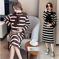 Váy Đầm Bầu Len Dáng Dài Azuno AZ9220 Thu Đông Dễ Thương, Chất Liệu Len Cao Cấp Không Bai, Không Xù Khi Giặt thumbnail
