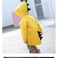 Áo mưa Khủng Long cho bé Style Hàn Quốc. thumbnail