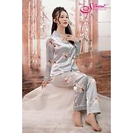 Bộ đồ ngủ nữ mặc nhà Pyjamas cao cấp SSECRET lụa thumbnail