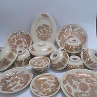 Bộ bát đĩa bàn thờ 17 chi tiết ( Vàng Kim) thumbnail