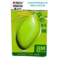 Xóa băng - Xóa kéo 8m hình quả xoài M&G - ACT55801 màu xanh lá thumbnail