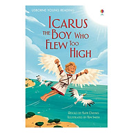Usborne Young Reading Series One (Red) Icarus, the Boy Who Flew Too High thumbnail
