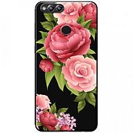 Ốp lưng dành cho Honor 7X mẫu Hoa hồng đỏ nền đen thumbnail