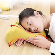 Gối ngủ đa năng cho dân văn phòng không gây đau mỏi gáy cổ - màu ngẫu nhiên thumbnail