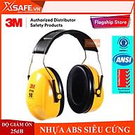 Chụp tai chống ồn 3M H9A đeo qua đầu, độ giảm ồn 25dB, ôm kín khít vành tai người dùng thumbnail