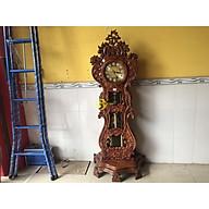 Đồng hồ cây đàn gỗ hương DH12 thumbnail