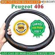 Bọc Vô Lăng Da dành cho Xe Peugeot 406 Lót Cao Su Non Cao Cấp Chống Trượt Tay thumbnail