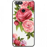 Ốp lưng dành cho Honor 7X mẫu Hoa hồng đỏ nền trắng thumbnail