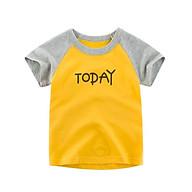AT6Size90-140Áo thun cho bé cotton 100%Thời trang trẻ Em hàng quảng châu thumbnail