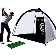 Lưới tập Swing golf di động [2M-LXW013] Thiết kế mới bổ sung lỗ tập Chip, hai màu lựa chọn. thumbnail