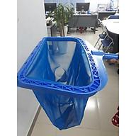 Vợt vớt rác hồ bơi loại sâu vành nhựa tăng cường thumbnail