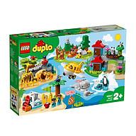Đồ Chơi LEGO DUPLO Thế Giới Động Vật Hoang Giã 10907 thumbnail