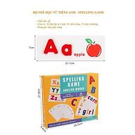 Spelling Game - Chữ Cái Tiếng Anh - Đồ Chơi Ghép Chữ Cho Bé Học Ghép Chữ Tiếng Anh - Hàng Việt Nam Chất Lượng Cao thumbnail