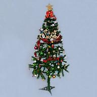 Cây Thông Noel 50cm tặng kèm 1 bộ phụ kiên đầy đủ thumbnail