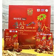 Nước Hồng Sâm Vàng Cao Cấp 6 Năm Tuổi (HÀNG CAO CẤP DÀNH CHO THỊ TRƯỜNG NỘI ĐỊA HÀN QUỐC) - Thùng 6 hộp, Hộp 5 gói Sản phẩm bổ dưỡng tự nhiên, tăng cường hệ miễn dịch cho cơ thể khỏe mạnh thumbnail