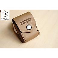 TÚI ZIPPO DA BÒ THẬT thumbnail