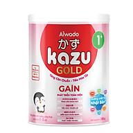 [Tinh tuý dưỡng chất Nhật Bản] Sữa bột KAZU GAIN GOLD 350g 1+ (từ 12 tháng đến 24 tháng) thumbnail
