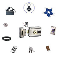 Bộ khóa cổng điện tử thẻ từ exit hồng ngoại thông minh SG-204P thumbnail