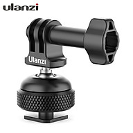 Ulanzi GP-6 Action Camera Cold Shoe Mount Adapter Aluminum Alloy 360 Rotation Ball Head with 1 4 Inch Screw Hole thumbnail