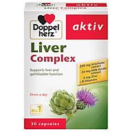 Thực phẩm bảo vệ sức khỏe thải độc gan Doppel Herz Liver Complex (30 viên) thumbnail