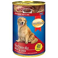 Pate cho chó Smartheart Beef & Liver 400g (lon) thumbnail