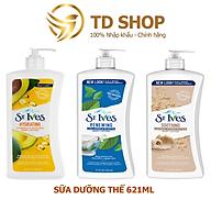 [NK Mỹ] Sữa Dưỡng Thể St.Ives 621ml nhiều mùi hương Nhập khẩu Mỹ - TD Shop thumbnail