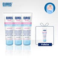 Set 3 tuýp Lotion dưỡng ẩm cho bé EUBOS 125ml tặng gel tắm gội cho bé EUBOS 125ml thumbnail