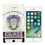 Kính Cường Lực Cho iPhone 7 plus 8 Plus - Màu Trắng - Full Màn Hình - Hàng Chính Hãng thumbnail