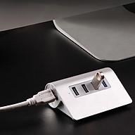 Bộ hub chia 4 cổng USB3.0 vỏ nhôm M3H4 thumbnail