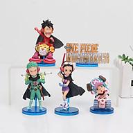5 cái bộ Anime Đồ chơi hình một mảnh WCF Mugiwara56 vol.2 Nami Sanji Usopp Franky Brook PVC Hình nhân vật hành động Đồ chơi quà tặng thumbnail