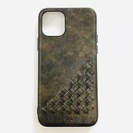 Ốp lưng cho iPhone 11 Pro (5.8 ) hiệu TJ KINGS Vintage Caro Tpu - Hàng nhập khẩu thumbnail