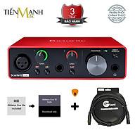 Focusrite Scarlett Solo Gen 3 Sound Card Âm Thanh Hàng Chính Hãng - Focus USB Audio Interface SoundCard (3rd - Gen3) - Kèm Móng Gẩy DreamMaker thumbnail