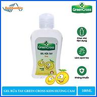Gel Rửa Tay Khô Green Cross Hương Cam Dành Cho Trẻ Em (100ml) - 8936027441163 thumbnail