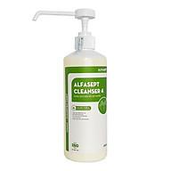 Nước rửa tay sát khuẩn nhanh ALFASEPT CLEANSER 4 - Diệt khuẩn nâng cao thumbnail