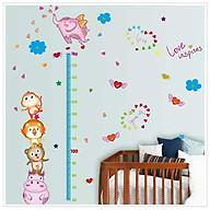 Decal dán tường Thước đo động vật ngộ nghĩnh SK9141 thumbnail