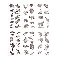 Sticker Dán Trang Trí ( Bộ 6 Tấm ) - Hoang Dã thumbnail